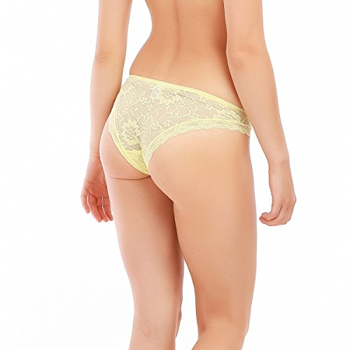 La Modeuse - Tangas - para mujer amarillo