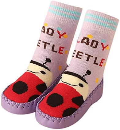 キッズ フロアソックス Florrita ベビー かわいい 動物柄 ファーストシューズ 子ども用 ゴム底 靴下 フロアソックス 滑り止め ラバー底ソックス ボートソックス 男の子 女の子 赤ちゃん靴 歩行練習 屋内 満月 贈り物