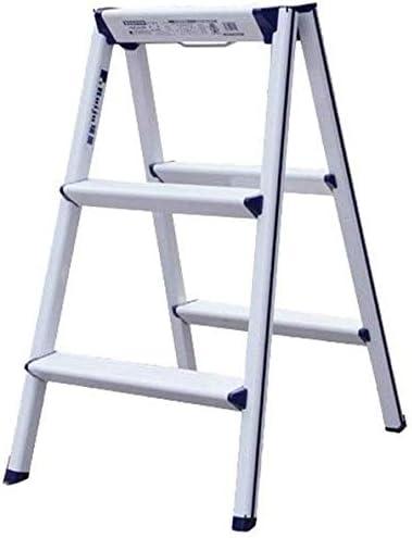 NOOYC Escalera de Mano, 3 Paso Escalera Plegable Aluminio Pies Antideslizante de Goma Escalera Telescópica Escalera telescópica Calidad Diseño,75cm: Amazon.es: Hogar