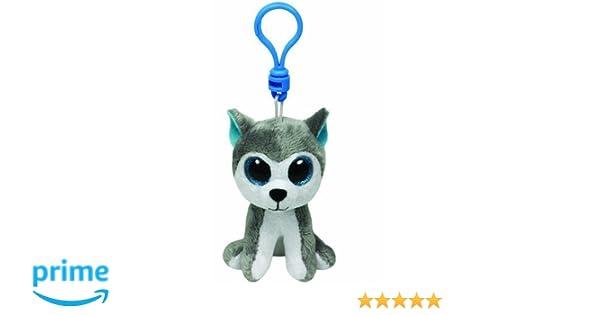 Amazon.com  TY Beanie Boo Key Clip Dog Husky Slush  Toys   Games f884ef3bd1ca