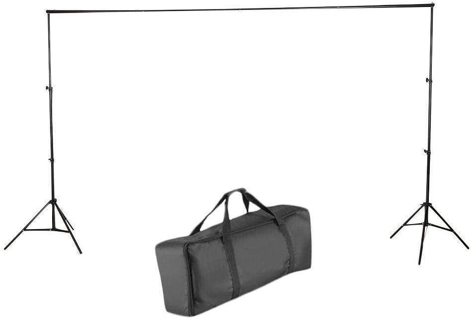 Very Easy to use and Assemble AVGDeals 6.510 Ft Adjustable Background 2 Support Stand Photo Backdrop 4 Crossbar Kit