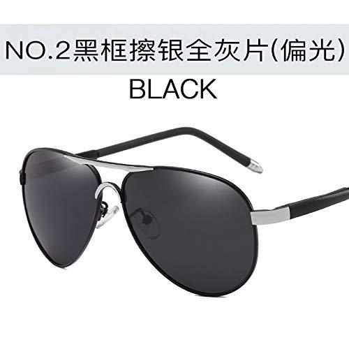 Libre gray de Gafas de Sol para full Burenqiq Gafas Negro Sol Hombres Espejos silver frame conducción Marco Deportivas Aire Sol al Black Gafas Completo de de Plata Espejos Gris polarizadas 8xPnPZCv