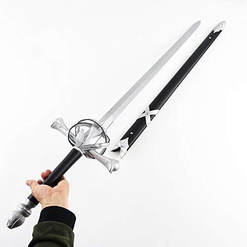 Fate/Grand Order FGO ジャンヌ・ダルク 木製模造刀 剣 武器 仮装変装用道具 コスプレグッズ イベント パーティー ハロウィーン (ホワイト)