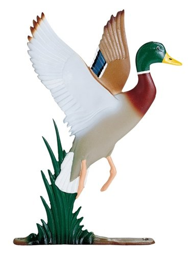 Whitehall Products Duck Weathervane, 30-Inch, Rooftop Color - Whitehall Products Duck