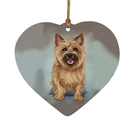 Cairn Terrier Dog Heart Christmas Ornament - Amazon.com: Cairn Terrier Dog Heart Christmas Ornament: Home & Kitchen