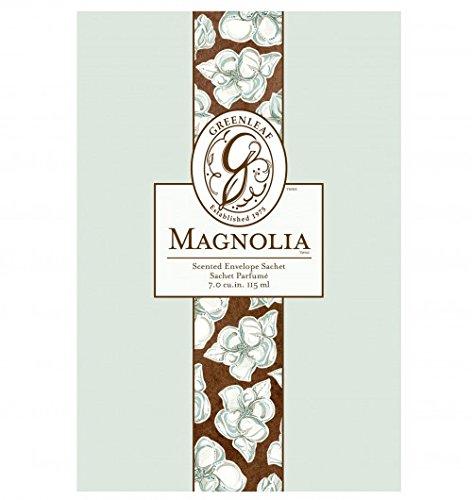 Lot de 6Vertefeuille Grande sachets parfumés Magnolia