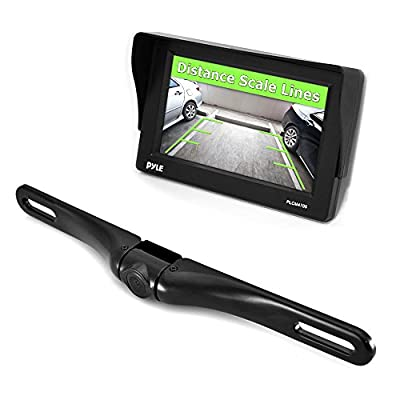 Pyle Car Vehicle Rearview Backup Camera & Monitor Parking/Reverse Assistance System from The Rear View Camera Center