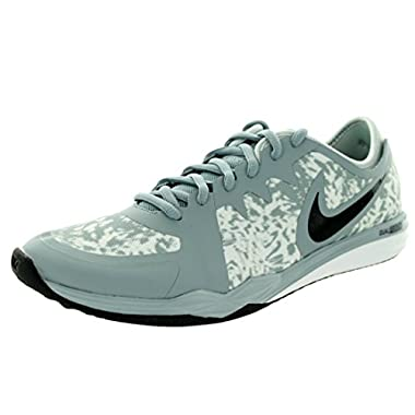 NIKE New Women s Dual Fusion TR 3 Print Cross Trainer Grey Mist White 9.5 b14fdbda2f8e5