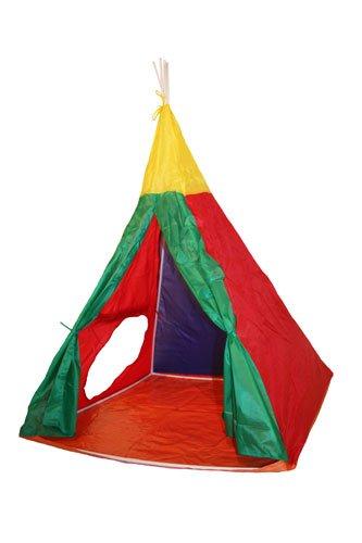 int/érieur//ext/érieur Formes Igloo//tipi Charles Bentley Tente de Jeu 3 en 1 pour Enfant