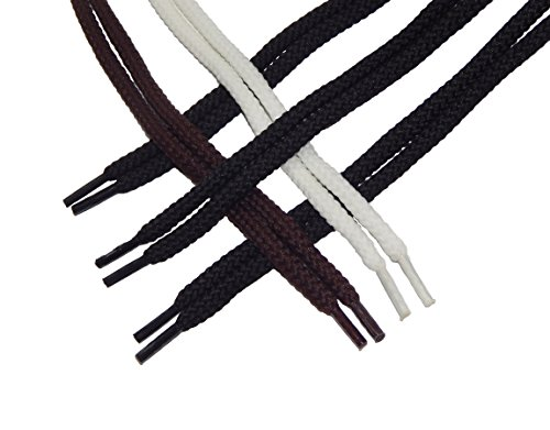 10x TEN Multicolor Shoelaces (5 Pair Pack) Fits Most Types Shoes 27 inches 5/32