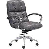 Zuo Avenue Office Chair, Vintage Gray