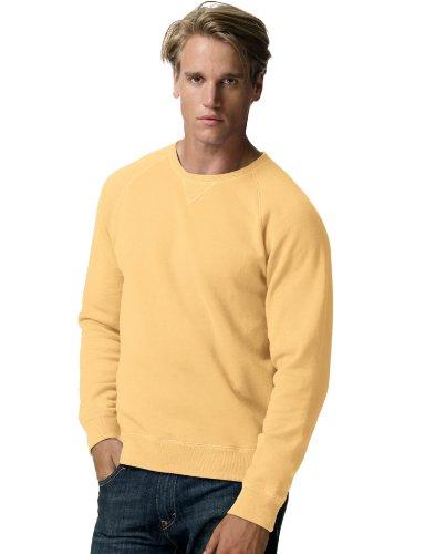 School Crewneck Sweatshirt (Hanes Mens Nano Premium Lightweight Crewneck)
