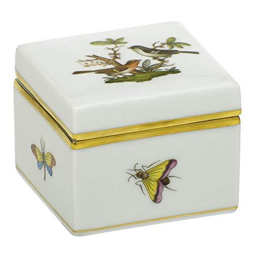 Rothschild Box - Herend Square Box Rothschild Bird