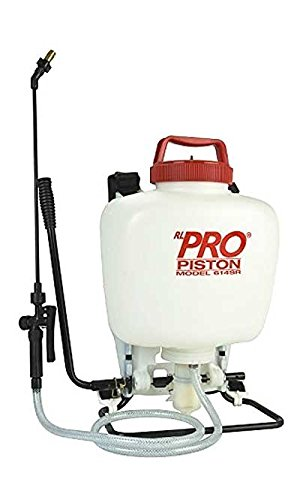 BestNest RL Flo-Master Heavy-Duty Backpack Piston Sprayer, 4 gallons