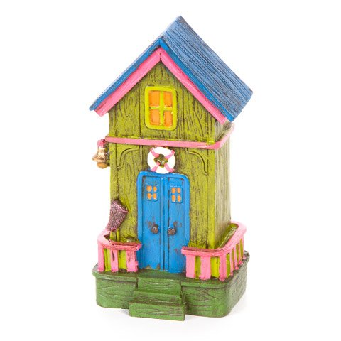 Fairy Garden Beach House - Tropical Color - 3.25 x 6.5In