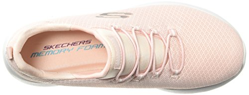 Rosado Claro Negro Slip Dynamight On Zapatillas Womens Skechers fqaBv6x