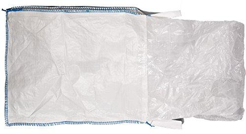 Mutual 14981 Polypropylene Bulk Bag, 3000 lbs Capacity, 3' Length x 3' Width x 3' Height