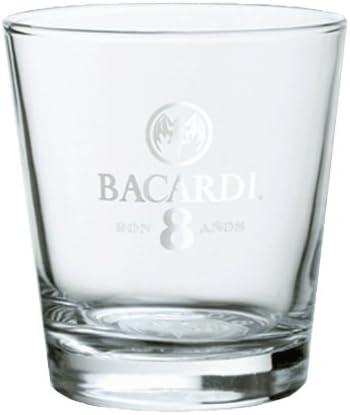 'Vasos de Bacardi Ron 8 anos