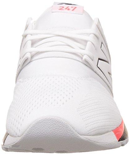New Herren Mesh Weiß 247 Balance Sneaker Classic r1wfArq