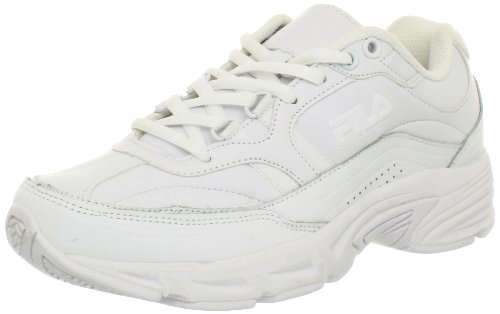 Fila Women's Memory Workshift Cross-Training Shoe,White/White/White,8 M US