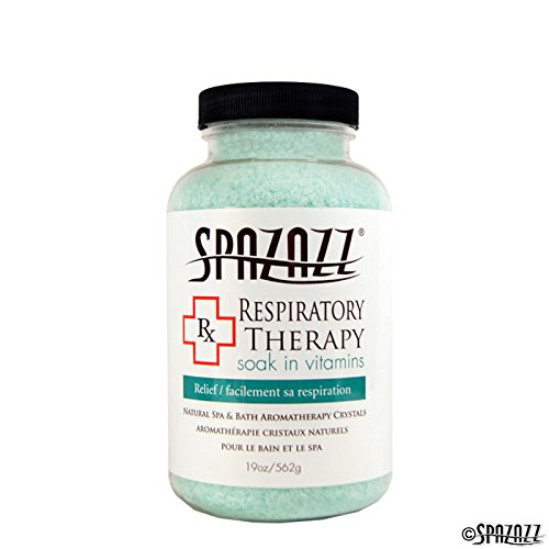 Spazazz RX Therapy Crystals Container, 19-Ounce, Respiratory Therapy/Relief