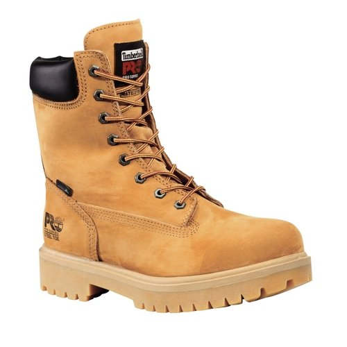 (TIMBERLAND PRO Men's Steel Toe Insulated Logger Work Boots Wheat Brown 9.5)