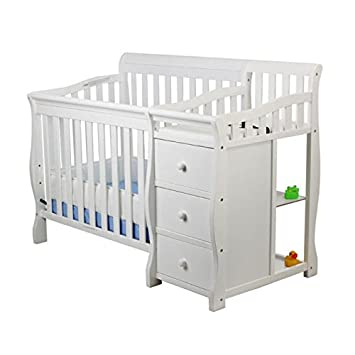 Amazoncom Dream On Me Jayden 4 In 1 Mini Convertible Crib And