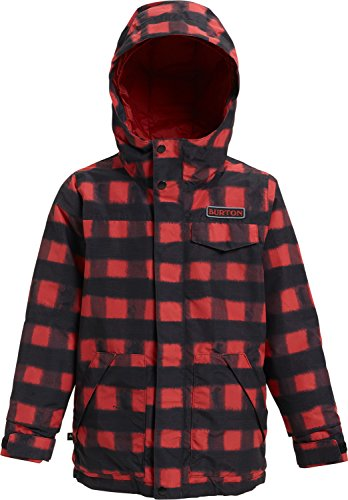 Jacket Youth Dugout - Burton Boys Dugout Jacket, Spray Buffalo, Large