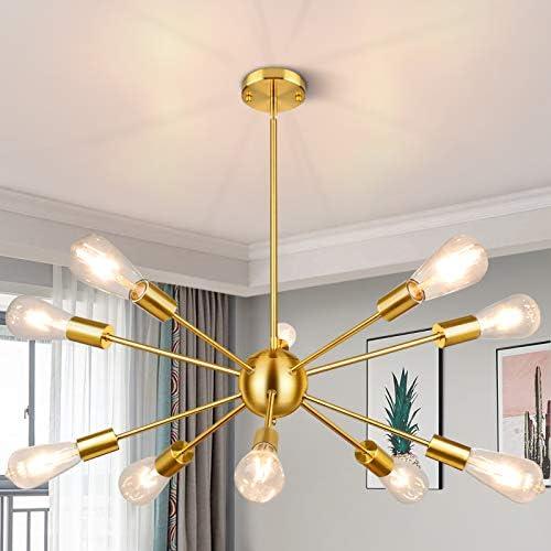Sputnik Chandeliers 10-Light