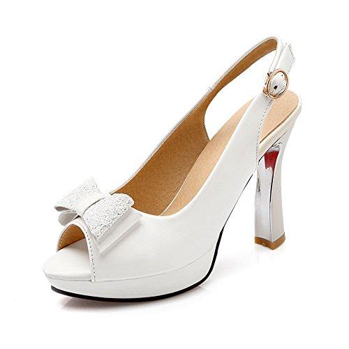 5 EU BalaMasa Ouvert 36 Femme Blanc Blanc Bout Znq6SYpq0