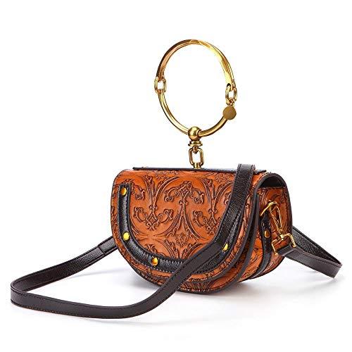 à Saddle Sac épaule Messager Sac Ring Sac à de Main Main Vent Lady Bag Sxuefang National Unique 8EwYqwp