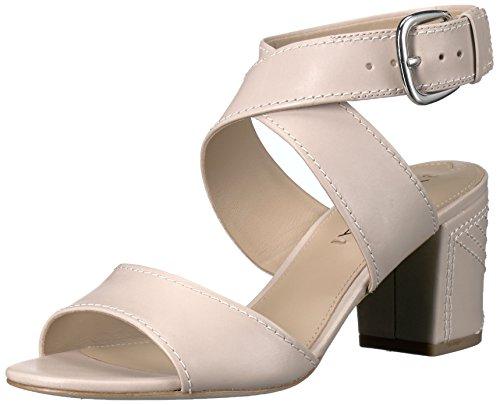 Via Spiga Women's Carson Dress Sandal Light Taupe Leather P8cvM69MDR