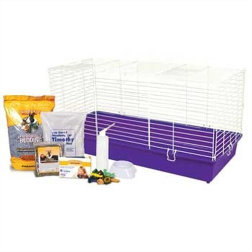 Ware Manufacturing Home Sweet Home Sunseed Rabbit Cage Starter Kit by Ware Manufacturing (Rabbit Starter Kit Cage)