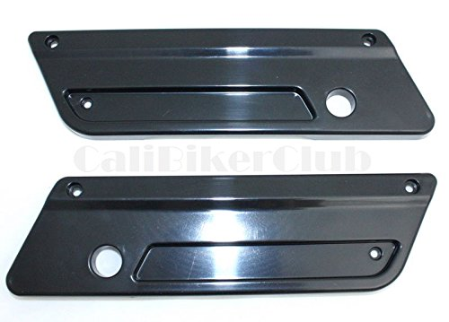 Amazon.com: Saddlebag Latch Covers (Pair) de color negro ...