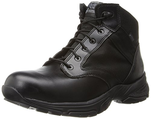 Timberland PRO Men's 5 Inch Valor Soft Toe Waterproof Duty Boot,Black Smooth With Textile,11.5 M US by Timberland PRO