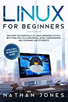 LINUX FOR BEGINNERS Front Cover