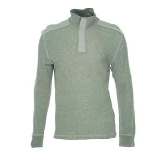 INC International Concepts Gray Distressed Half Zip Sweatshirt 1/2, Size 2XLarge