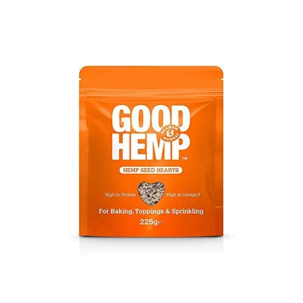 Good Hemp Seed Hearts (225g). Pack of 2 (450)