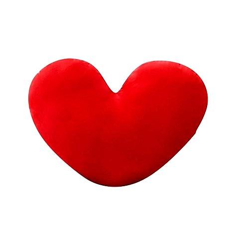Almohada de cojín con forma de corazón, cojín con forma de ...