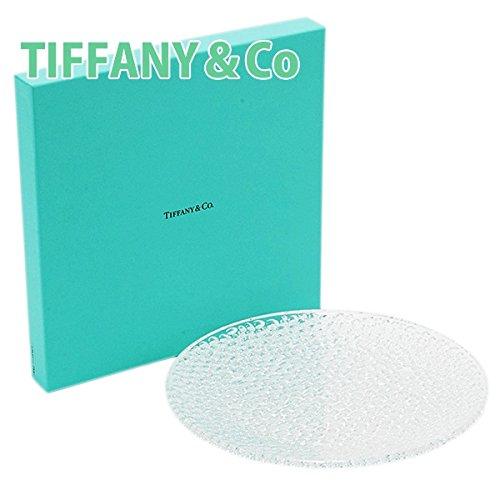 ティファニー TIFFANY&Co カデンツ コブルストーン プラター クリスタル お皿 プレート お祝い B00RHJECZ6