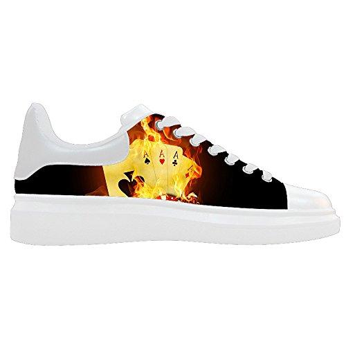 Dalliy feuer feuer Mens Canvas shoes Schuhe Lace-up High-top Sneakers Segeltuchschuhe Leinwand-Schuh-Turnschuhe D