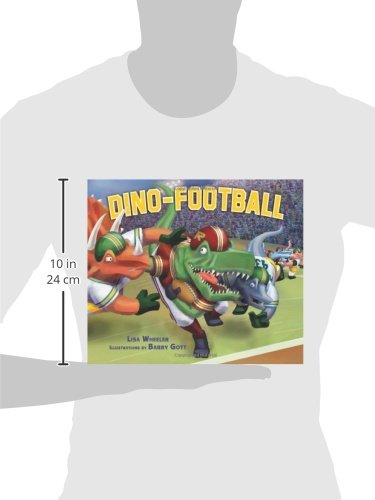 Dino-Football (Carolrhoda Picture Books) (Dino-Sports) by Carolrhoda Books (Image #3)