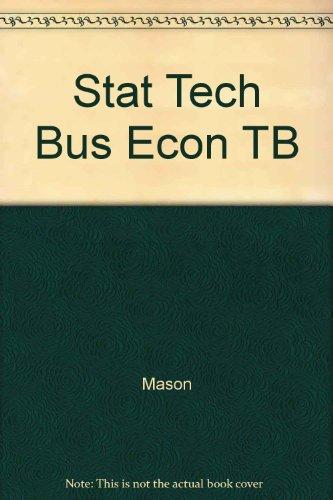 Stat Tech Bus Econ TB