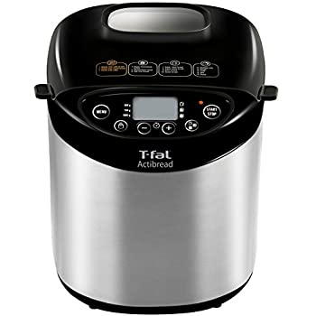 Image of Home and Kitchen T-fal 7211001527 Bread Machine, 14.02 x 12.52 x 16.06 inches, Stainless steel