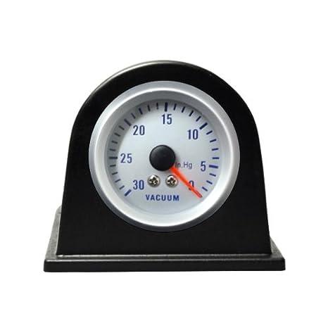 IA51LD - Manometro Boost Presión Turbo, Instrumentos adicional Indicador medidor gauge vacuum vacio: Amazon.es: Coche y moto