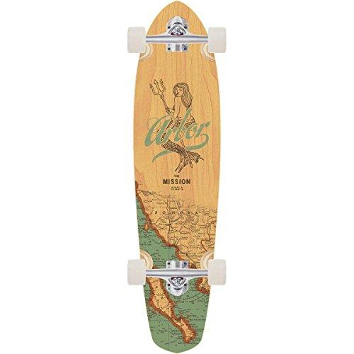 "Arbor Cruiser Skateboard Mission Groundswell 8.65"" x 35"" Kic"