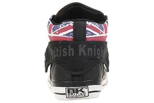 Trainers Black British Hi Union Roco Men's Jack Knights Top waZp4w