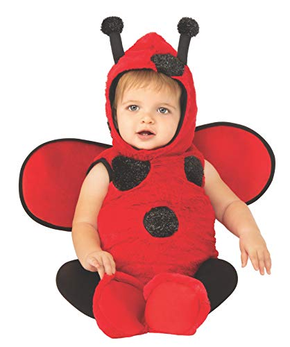 Rubie's Baby Opus Collection Lil Cuties Little Ladybug Onesie Costume, Black/Red, Infant ()