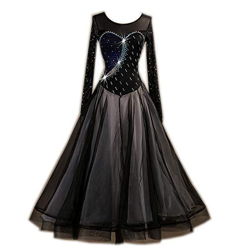 激安大特価! garuda 社交ダンスドレス モダンダンスウェアロングワンピース ワイヤストーン飾 黒色 黒,XL B07JLHSCRB サイズオーダー B07JLHSCRB 黒,XL, Classical Elf/クラシカルエルフ:26d80a45 --- a0267596.xsph.ru