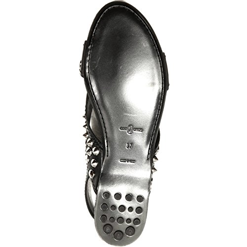 Car Donna Shoe Women 48057 Sandalo Scarpa Shoes Nero z7zPw